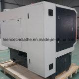 CNCのスマートな移動式合金の車輪修理装置CNCの車輪の旋盤の打抜き機Awr28h