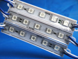 SMD 5050 bleu imperméable à l'eau de module de 5 LED