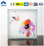 Jinghua artístico de alta calidad P-043 de la pintura de ladrillo y bloque de vidrio