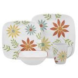 16 PCS Dinnerware Cerâmica Floral (GW1712)