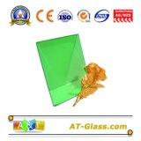 4mm 5mm 3300*2140mm de vidro float verde escuro/vidro float colorido