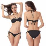 Крестом на линии 2 штук женских Sexy линии бикини Bandeau Wireless пляжную купальный костюм