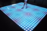 Party Wedding Disco 61 * 61 Cm Waterproof RGB Effet LED Dance Floor