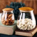 De Kruik van het Suikergoed van de Decoratie van de Kruik van het Suikergoed van het Voedsel van het Glas van de Kruik van de Opslag van de Keuken van het Glas van het suikergoed