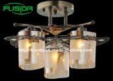 2014 Luz de tecto novo design com vidro quadrado D-9371/3)