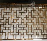Het Scherm van het Roestvrij staal van de Kleur van het brons voor Woonkamer