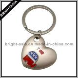 Funny Heart Shape Key Chain with Soft Enamel (BYH-10649)