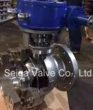 Válvula de bola de acero forjado fijo de alta presión de la API