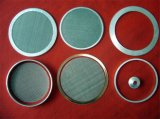 Customized 304 Stainless Steel Woven Mesh Discs Filter Packs