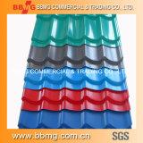 La qualité chaude/a laminé à froid la bobine galvanisée plongée chaude de matériau de construction ridée couvrant la plaque en acier en métal