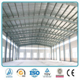 기중기를 가진 Prefabricated 가벼운 강철 구조물 창고