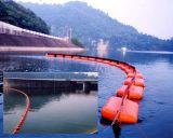 厚いゴム製ボディ浮遊物のゴム製オイルフェンス