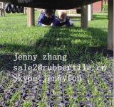 Сверхмощная циновка предохранения от травы циновки резиновый кольца Dubable цветастая напольная