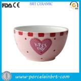 Serie dolce di amore che Wedding l'insieme di ceramica della ciotola