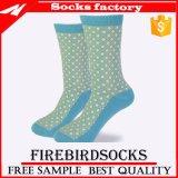 Высокое качество удобные носки для вязания Custom женщин платья носки
