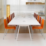 Mobiliário de escritório Branco moderna sala de conferência Sala de reuniões com mesa e cadeiras