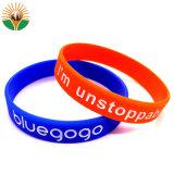 Cheap bracelet en silicone colorées personnalisé avec logo