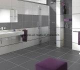 Azulejo de suelo rústico del color gris puro del color del material de construcción