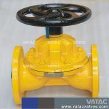 Vatac doublées ou non doublées Weir/kb/A/directement par Type de soupape à diaphragme