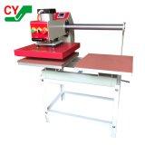 La prensa de calor neumática máquina diapositivas con las estaciones de doble