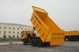 8X4 autocarro con cassone ribaltabile pesante di estrazione mineraria del ribaltatore della sabbia da 40 tonnellate