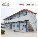 Accommodation bon marché de camp de travail de camp d'histoire de la construction préfabriquée deux