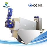 ISO-certifiés de traitement des eaux usées municipales presse à vis de la machine de déshydratation des boues