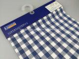 Tela teñida de la gata de la verificación del hilo de algodón para Shirt-Lz6971