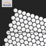 Fabbrica decorativa opaca che vende le mattonelle di mosaico rotonde del penny bianco