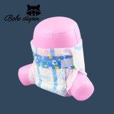 プライベートラベルによって印刷されるOEMによっては等級の赤ん坊のおむつの使い捨て可能な柔らかさ中国のおむつの製造が呼吸する