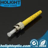 St Types de connecteur à fibre optique pour les télécommunications