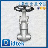Уплотнение давления запорной заслонки Didtek криогенное выкованное