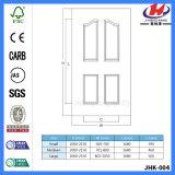 Кожа двери праймера твердой древесины HDF белая (JHK-004)