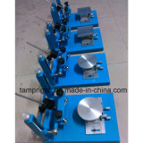 Impresora manual de la pantalla para los pequeños productos plásticos, el marco de pantalla del metal y una mesa de trabajo más fina