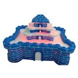 De gelukkige Vezel van het Vermaak van Jonge geitjes - de Lijst van het Zand van het Stuk speelgoed van het glasVermaak voor Winkelcomplex (s01-PK)