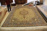 Шелковые ковры ручной работы, восточные шелковый ковер