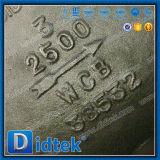 Didtekのフランジは圧力シーリングWcbの小切手弁を終了する
