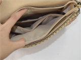 O ombro & Crossbody da palha do Weave do saco do Rattan do quadrado da cor dos doces ensacam (ZXK1782)