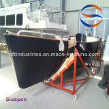 5.75m黒いカラーSloepenのボートの速度のボートの漁船