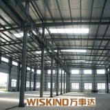 Estructuras de acero prefabricadas/Wareshouse /Workshop, estructura de edificio de acero