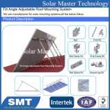 Panneau solaire en aluminium d'énergie verte Les supports de montage sur toit