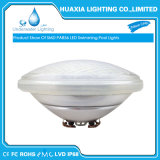 Blanco cálido 12V LED PAR56 Lámpara de bajo el agua de piscina