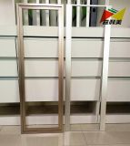 現代アルミニウムオフィスのファイリングキャビネットの食器棚フレーム