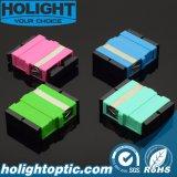 Sc a SC Adaptadores de fibra óptica tipo brida sin