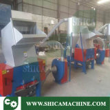 Plástico de 30 CV Granulator con silo para HDPE recipiente