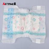 Tecido descartável colorido respirável do bebê da absorção elevada nova do projeto