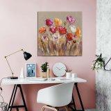 Handmade toile peintures art floral de paroi de l'huile pour la décoration d'accueil