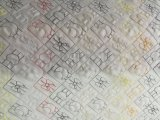 Intellectualizedの二重列のキルトにする刺繍機械