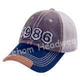 2018 Novo Desporto era Custom Bordados Imprimir Baseball Hat Cap