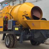 Hormigonera con bomba montada en el tractor mezcladores de cemento
